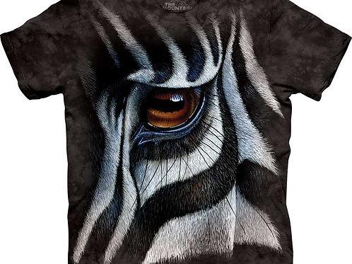 Zebra-Auge