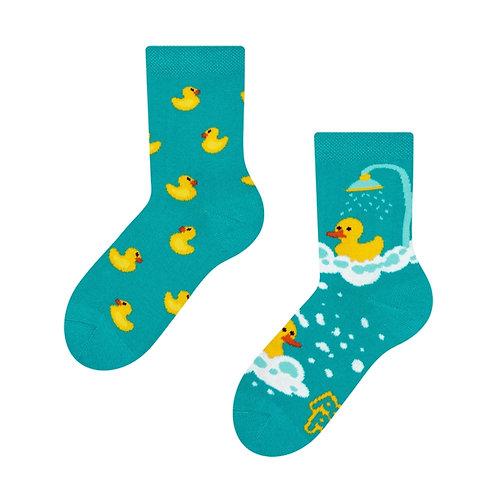 Gelbe Enten Gute Laune Socken, Kind
