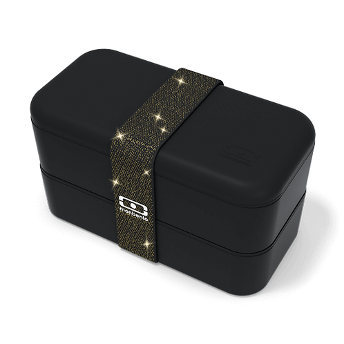 MB Original Bento-Box, Special Edition, Glitzer Schwarz