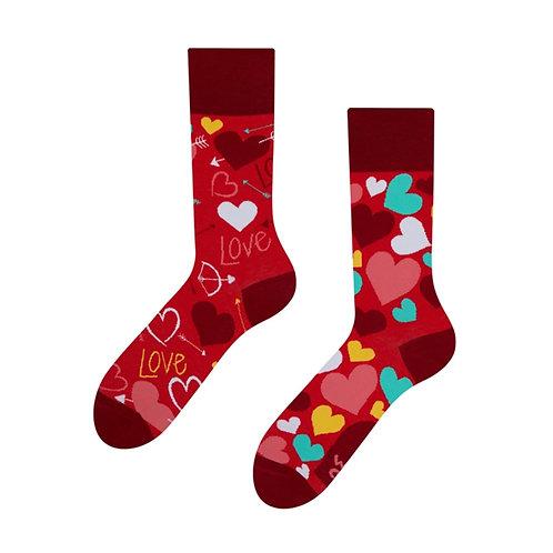 Herze Gute Laune Socken, Erwachsene