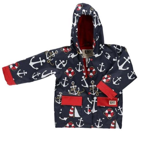 Nautical Regenjacke Kind