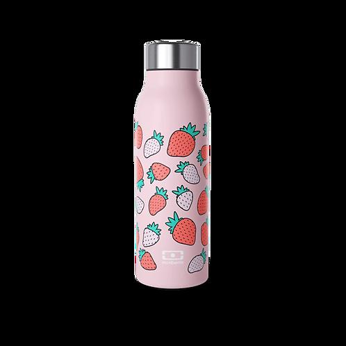 Genius Thermosflasche, Graphic Edition, 50cl, Erdbeere