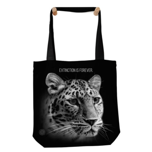 Tragtasche Leopard - Extinction is Forever