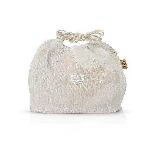 Pochette Tasche M, Natur-Crème