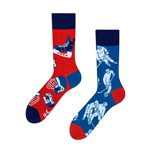 Eishockey Gute Laune Socken, Erwachsene