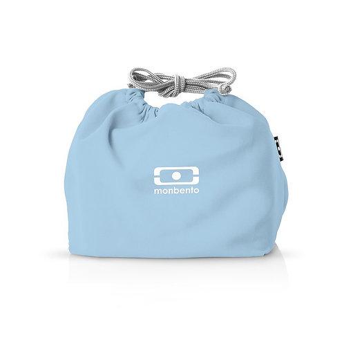 Pochette Tasche, Kristall-Blau