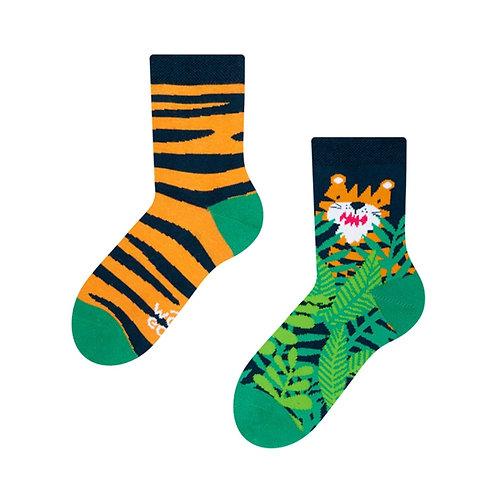 Tiger Gute Laune Socken, Kind