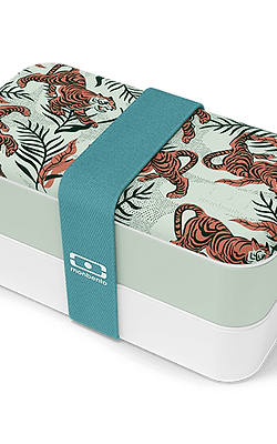 MB Original Bento-Box, Graphic, Kraft Tiger