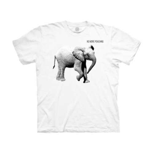 Junger Elefant - No More Poaching