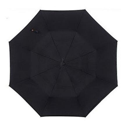 Invertierter Regenschirm, schwarz