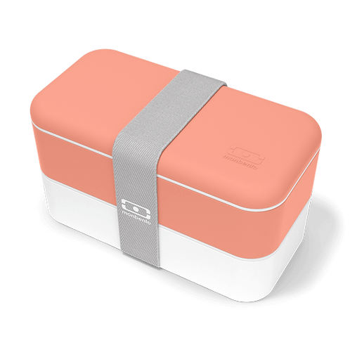 MB Original Bento-Box, Tropisch-Orange/Weiss