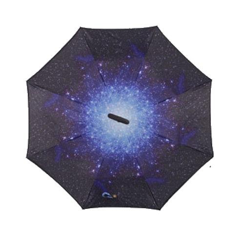 Invertierter Regenschirm, Sternenhimmel