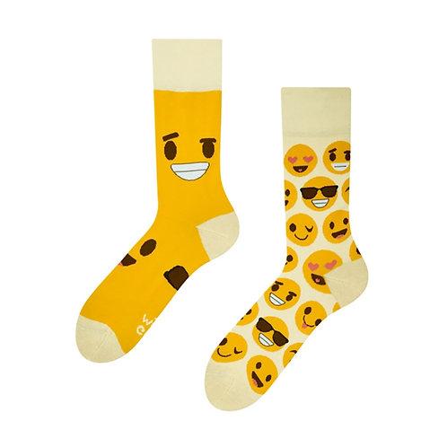 Smilies Gute Laune Socken, Erwachsene