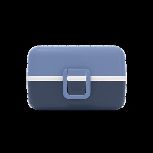 Tresor Kinder Bento-Box, Infinity-Blau & Hellblau