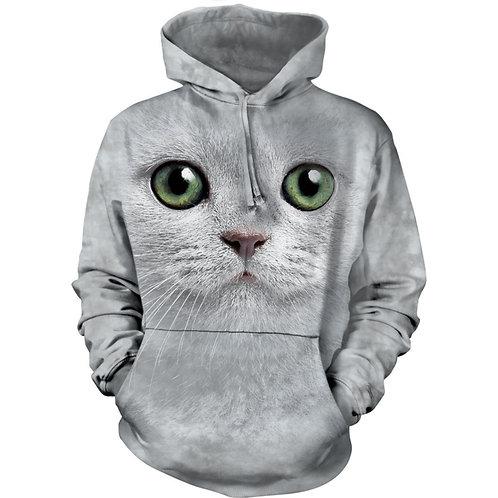 HOODIE - Grüne Augen Katze