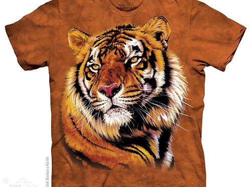 Tiger mit Kraft und Anmut