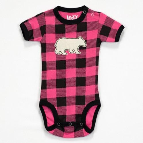 Bear Plaid Body Baby