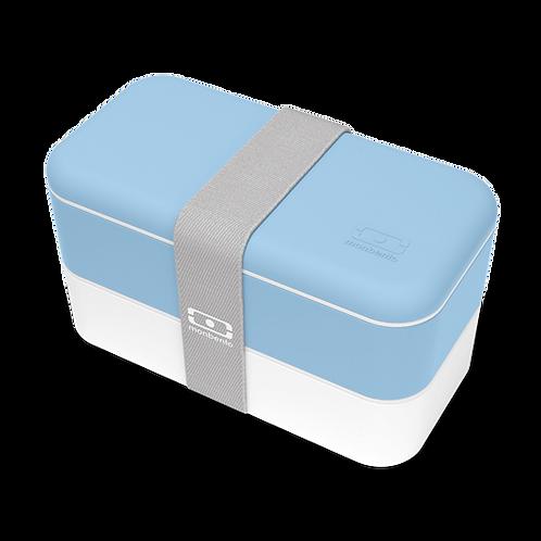 MB Original Bento-Box, Kristall-Blau/Weiss
