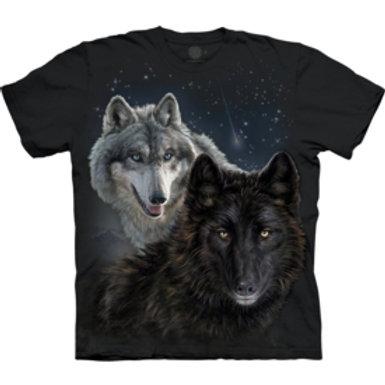 Wölfe mit Sternen