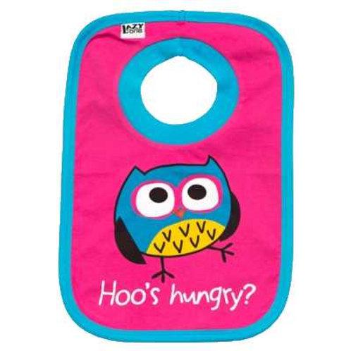 Hoo's Hungry Lätzchen, pink