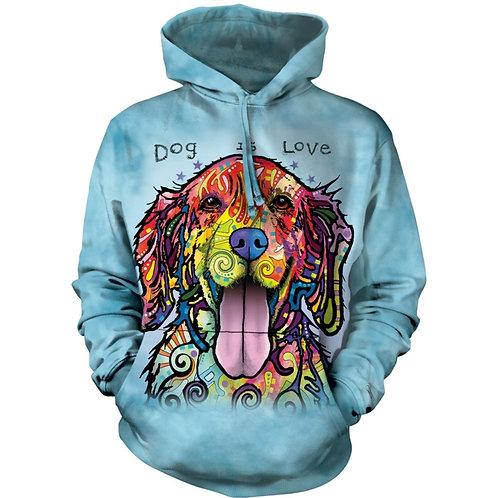 HOODIE - Hund ist Liebe