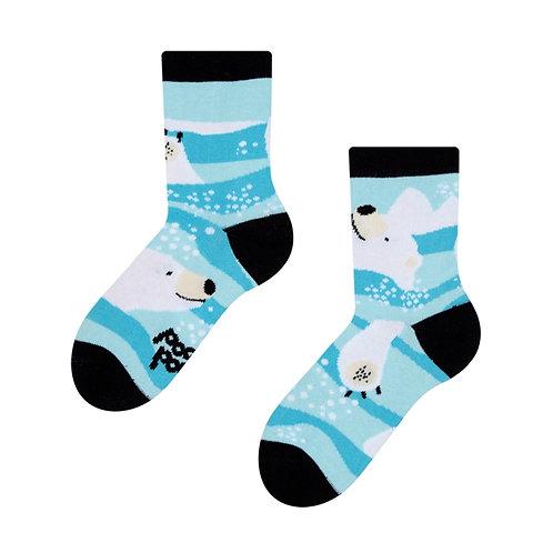 Eisbär Gute Laune Socken, Kind