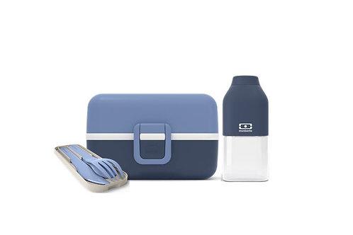 KLEINER GOURMET Set für Kinder, Infinity-Blau