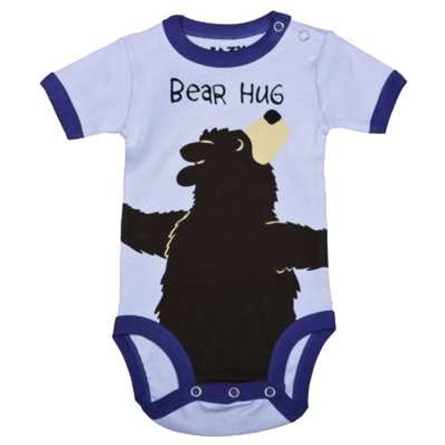 Bear Hug Body Baby, blau