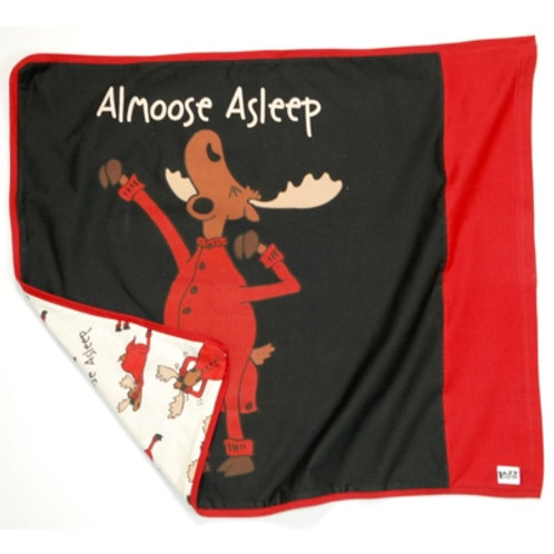 Almoose AsleepKopfkissenüberzug