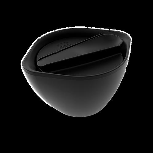 Doppelseitige Schale, Schwarz