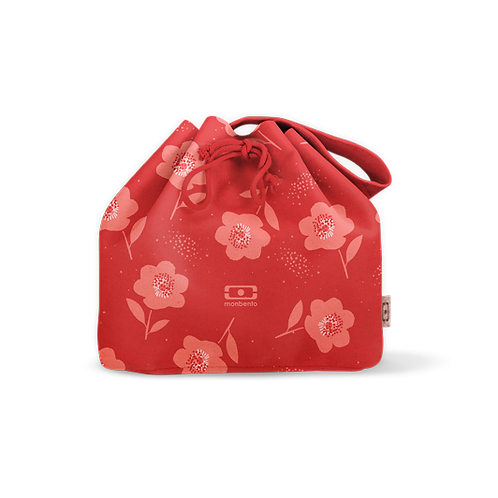 Pochette Tasche M, Graphic, Mohnblume