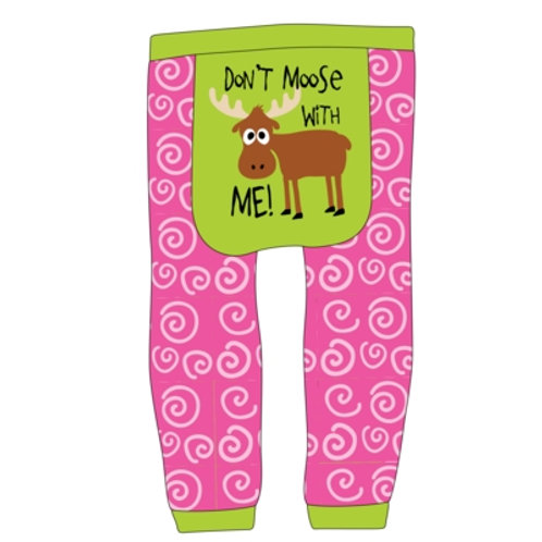 Don't Moose With Me Leggings Baby