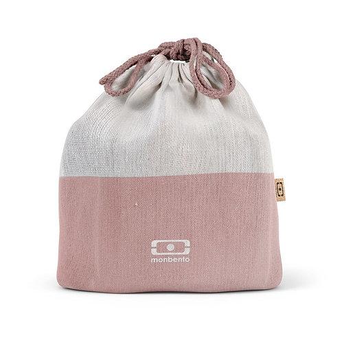 Pochette Tasche L, Natur-Flamingo
