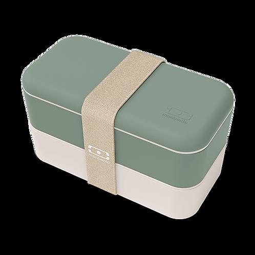 MB Original Bento-Box, Natur-Grün/Créme