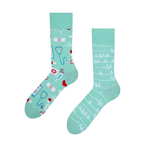 Medizin Gute Laune Socken, Erwachsene