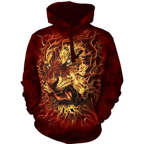 HOODIE - Feuer Tiger