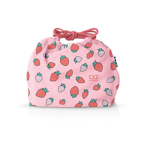Pochette Tasche M, Graphic Edition, Erdbeere