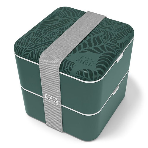 MB Square Bento-Box, Graphic Edition, Dschungel