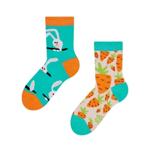 Kaninchen & Rüebli Gute Laune Socken, Kind