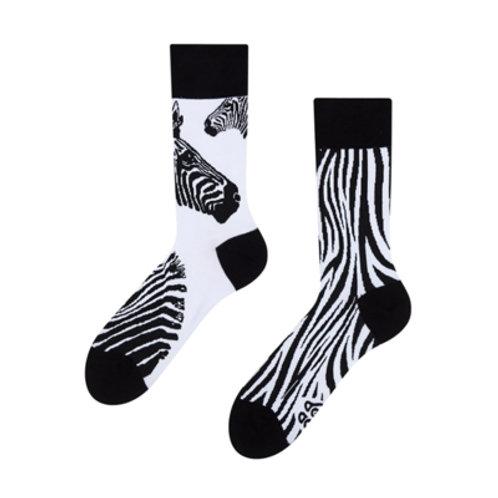 Zebra Gute Laune Socken, Erwachsene