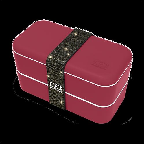 Original Bento-Box, Special Edition, Glitzer Rot