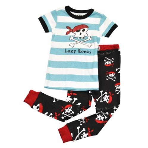 Lazy Bones Kurzarm Pyjama Kind