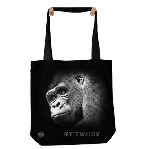 Tragtasche Gorilla - Protect My Habitat