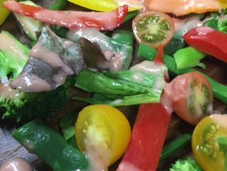 ランチのグリーンサラダ