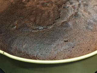 ガトーショコラが焼き上がりました。