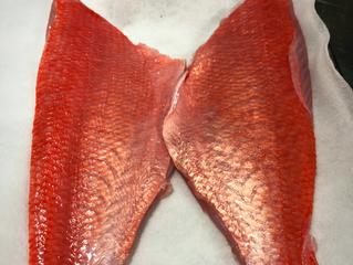 本日のお魚は千葉の金目鯛です!