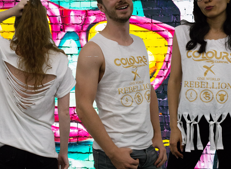 Tip to Toe Tutorials: Carnival Sunday T-Shirt Customisation