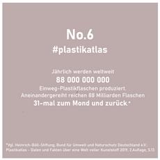 6 - 88Milliarden Plastikflaschen jährlich weltweit