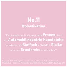 11 - Brustkrebsrisiko für Frauen durch Kunststoffverarbeitung