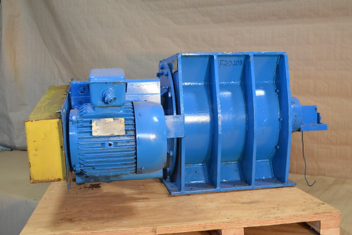 AMF METAL WHEEL FEEDER, SIZE 20X20, 7.5HP.